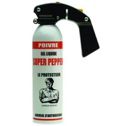 AEROSOL DEFENSE GEL CPS POIVRE 500ML
