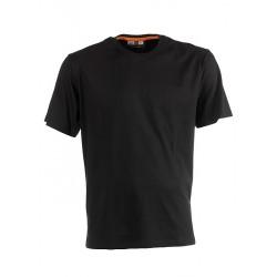 Tee shirt manches courtes homme HEROCK ARGO noir