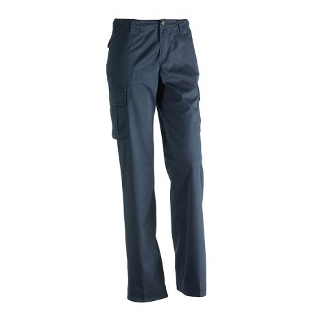 Pantalon femme multi-poches Sherock Athena marine