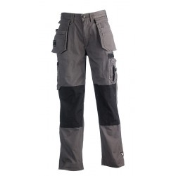 Pantalon de travail HEROCK Hercules gris
