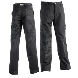 Pantalon multi-poches HEROCK Mars noir