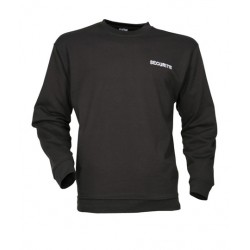 Sweat noir SECURITE