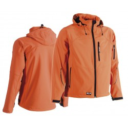 Veste Softshell Herock Poseidon orange
