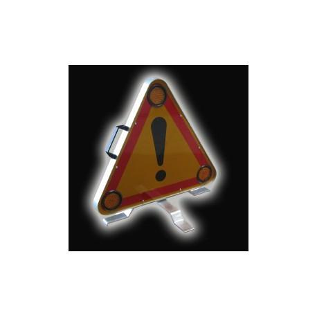 triangle signalisation lumineux panneau led. Black Bedroom Furniture Sets. Home Design Ideas