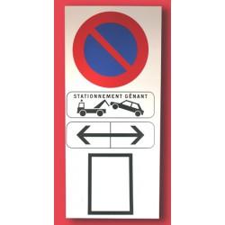 Panneau stationnement génant
