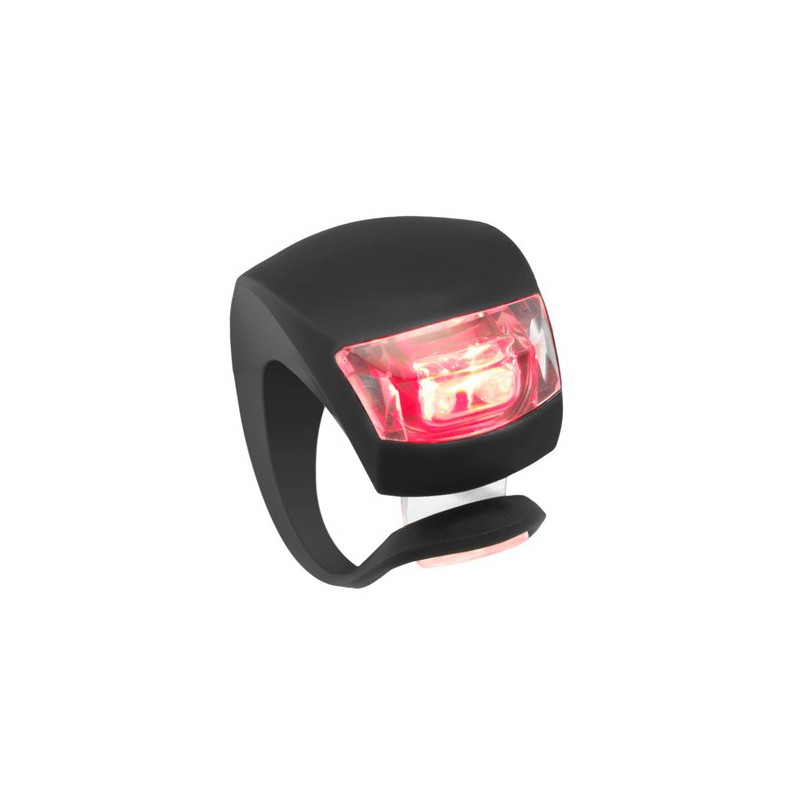 Lampe Led Fixation Rapide Velo Silicone Led Rouge