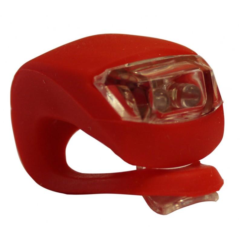 lampe led fixation rapide v lo silicone led rouge. Black Bedroom Furniture Sets. Home Design Ideas