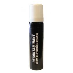 Spray décontaminant 75 ML