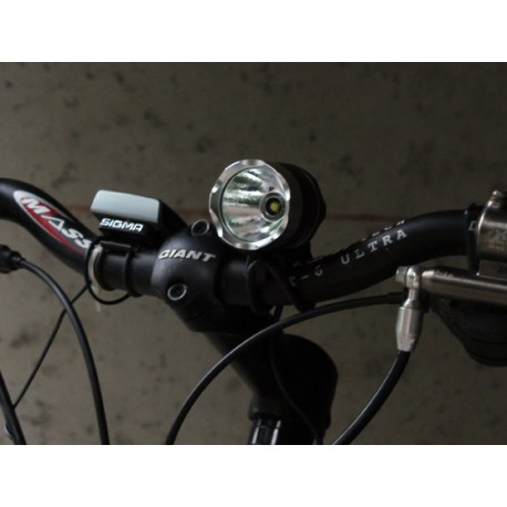 phare lampe clairage rechargeable puissant v lo cycle casque fixation. Black Bedroom Furniture Sets. Home Design Ideas