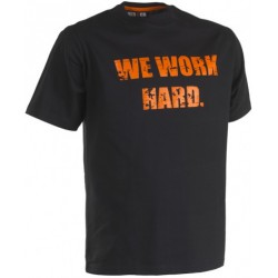 T shirt manches courtes Herock Anubis noir