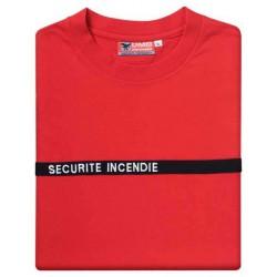 T shirt Sécurité Incendie DMB