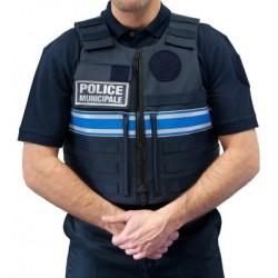 Rhinodefense gilet pare balle tactique pour la police for Housse gilet pare balle gendarmerie