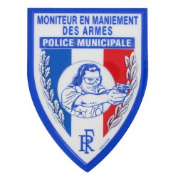 Ecusson PM Moniteur en maniement des armes