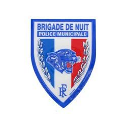 Ecusson PM Brigade de Nuit