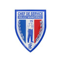 Ecusson PM Chef de Service
