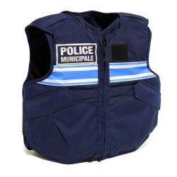 Gilet Pare Balle zippé Police Municipale