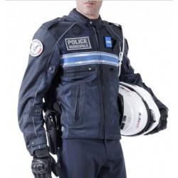 Blouson moto été Police Municipale coqué renforcé PM