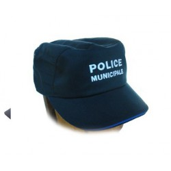 Casquette souple pour Police Municipale type Bac en coton