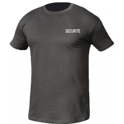 T shirt noir SECURITE