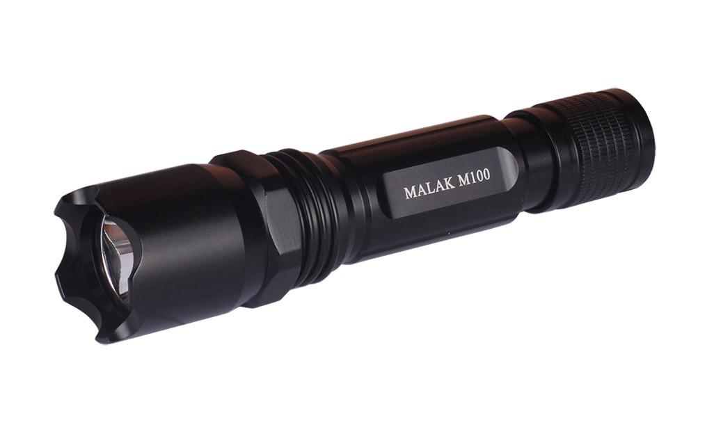 Lampe Torche Rechargeable Malak M100 A Led