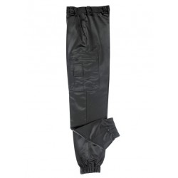 Pantalon Noir Satin intervention