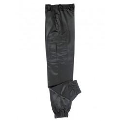 Pantalon Noir Satin intervention