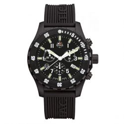 Montre H3 Tactical Trooper Carbon Chrono