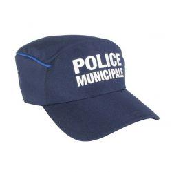 Casquette Police Municipale forme bac imper respirante liseré gitane
