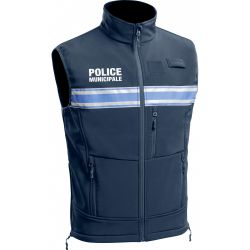 Gilet sans manche SOFTSHELL Police Municipale