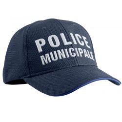 Casquette Police Municipale Stretch Fit été tissué aéré