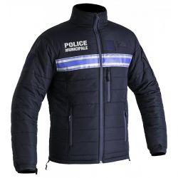 Blouson hiver POLICE MUNICIPALE matelassé