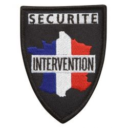 "Ecusson ""Securité Prévention"" brodé"