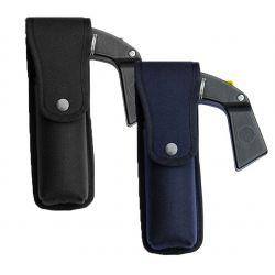 Porte aérosol de défense noir ou bleu 100ml Nylon