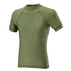 T-shirt manche courte Lycra+Mesh vert