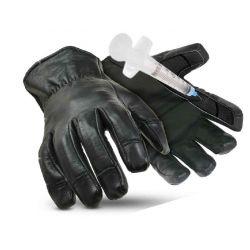 Gant anti-coupure et piqure en cuir