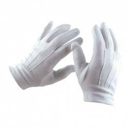 Gants blanc de cérémonie en coton
