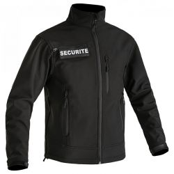 Veste Softshell noir SECU ONE