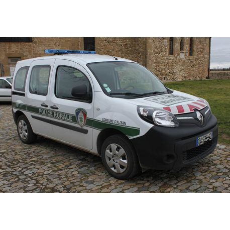 Kit complet de marquage véhicule Police Rurale Garde Champêtre