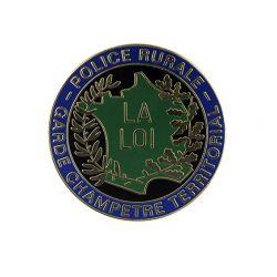 Médaille de porte carte Garde Champêtre