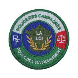 Ecusson Police Des Campagnes/Environnement brodé