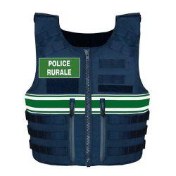 Gilet pare balle Tactical Police Rurale