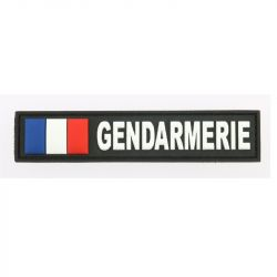 Bande patronimique GENDARMERIE et drapeau