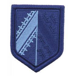 Ecusson Gendarmerie Légion BRODE Basse Visibilité Bleu Alsace