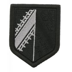 Ecusson Gendarmerie Légion BRODE Basse Visibilité Noir