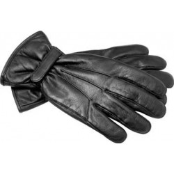 Gants cuir hiver doublés