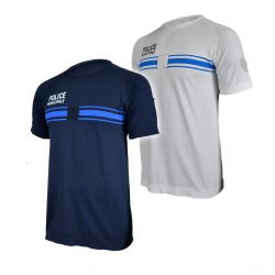 Tee Shirt bleu Police Municipale Active Line