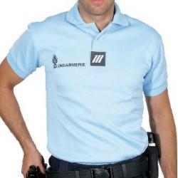 """Polo Gendarmerie """"Allégé"""" Homme MC 245 GR"""