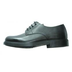 Chaussure basse cuir cérémonie cousue