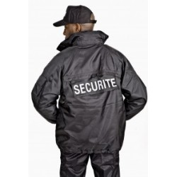 Blouson SECURITE noir