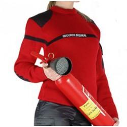 Pull rouge Sécurité Incendie